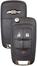 NEW Chevy GM OEM  Switchblade Flip Key 3 Button Remote  20873621 5913598 LOGO