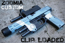 Zoomia Clip Fed Blaster PROP GUN, New - Custom Painted for COD / Halo Cosplay