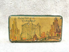 1920s Vintage Rare No.183 Palm Oil Lake Soap Advertisement Litho Tin Box Rare