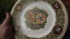 1981 Royal Wedding Charles & Diana Minton China Plate Mulberry Hall Boxed