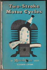 Two Stroke Motorcycles 1952 by The Motor Cycle Technical book engine ignition +