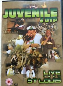 Juvenile And Utp DVD Reggae Live From St. Louis Music Performance Concert