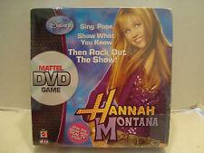 Hannah Montana Mattel DVD Game Then Rock Out The Show Mattel #M0508 NIB 2007!