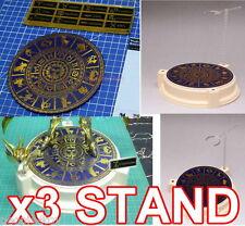 3 x ANUBIS ZODIAC SIGN STAND FOR SAINT SEIYA MYTH CLOTH GOLD EX FIGURE DISPLAY
