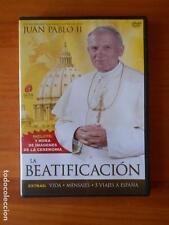 DVD JUAN PABLO II: LA BEATIFICACION - COMO NUEVA (S4)