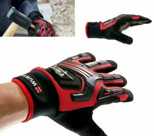Wurth Gloves Mechanic's Shock Absorber, Magnet mechanic industrial glove Wuerth
