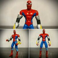 "Rare Marvel Spiderman 5"" Toybiz 1997 Action figure Avengers Toy Peter Parker"