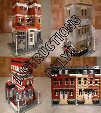 GET 100+ CUSTOM LEGO INSTRUCTIONS like MODULAR SETS-great for fans of Lego 10184