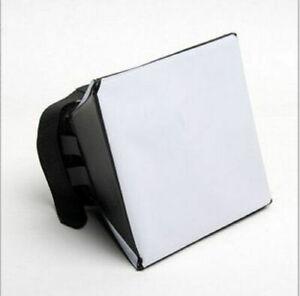 Generic Foldable Soft Box Flash Diffuser Dome For Canon Nikon Sony Pentax