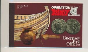 LO38005 Guernsey operation Asterix prestige booklet MNH