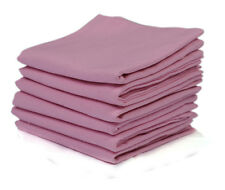 Cotton Napkins Pink 6/pack