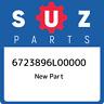 67238-96L00-000 Suzuki Gear,shift assy 6723896L00000, New Genuine OEM Part
