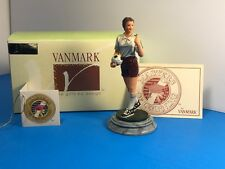 CHARACTER COLLECTIBLES VANMARK SCULPTURE FIGURINE SOCCER LEADING TEAM COACH NEW