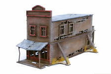 Old West Ghost Town Derelict Large Store 2 25mm, 28mm Terrain D064