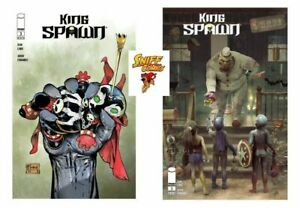 King Spawn #3 Barends and McFarlane Variant Set Image Comics 2021 PREORDER