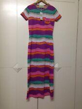 ZALORA SPRING FLING NWT Colorful Tshirt summer Maxi Dress SMALL php995