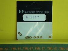 Détaillage WEINERT HO Laiton - Rondelles pour vis diam 2 mm ep 0,3 - ref 2227