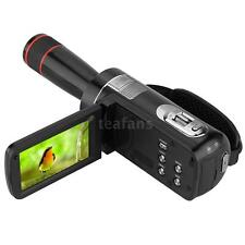 ORDRO HDV-Z8 1080P HD Digital Video Camera 16× Zoom 12× Telephoto Lens 24MP L4Y7