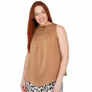 Sally Top in Tan by Bee Maddison
