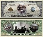 1ère GUERRE MONDIALE BILLET MILLION DOLLAR! Collection Histoire 14 18 Etudes WWI
