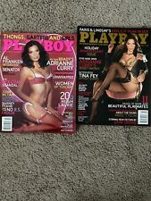 Playboy Lot of 2. Adrianne Curry Excellent Condition
