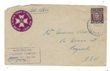 1944 Australia Army PO #207 Airmail to Kogorah NSW, WWII Censored, New Guinea