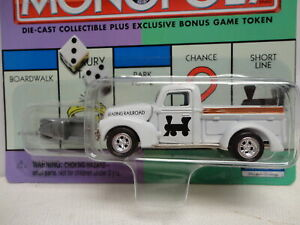 Johnny Lightning 1940 FORD TRUCK Reading Railroad '40 MONOPOLY Pickup