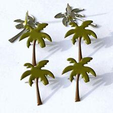 Brads - Palm tree holiday beach Island sun - pk 4 - scrapbooking