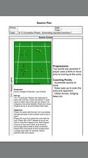 Football/soccer 10 Coaching Sessions For 9years + - Selection Of 3 Key Topics