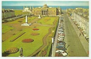 1972 Colour RPPC of Wellington Square And County Buildings, Ayr, Scotland