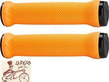 RACEFACE LOVEHANDLE ORANGE LOCK-ON MTB BICYCLE GRIPS
