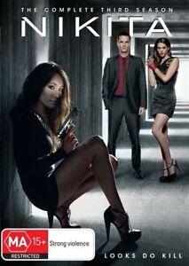 Nikita - Season 3 (DVD 5 Disc Set) NEW Not Sealed