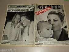GENTE 1965/49=GRACE KELLY=MIA FARROW=MAUREEN O'SULLIVAN=ETTORE LATO=MARIA UVA=
