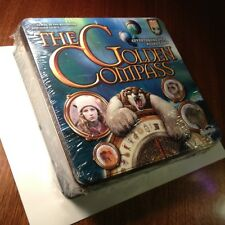 The Golden Compass Board Game NIB With DVD in Tin New Shrink Wrapped
