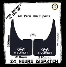 MUDFLAPS FOR HYUNDAI MODELS UNIVERSAL FIT MUD FLAP ACCENT COUPE GETZ i10 i20 i30