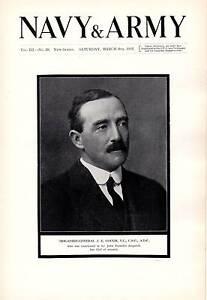 1915 WWI ~ BRIGADIER GENERAL J.E.GOUGH VC CMG ADC