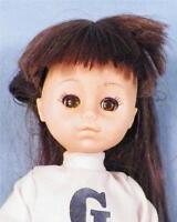 Vintage Vogue Ginny Doll Vinyl Cheerleader Brunette 1977 Lesney
