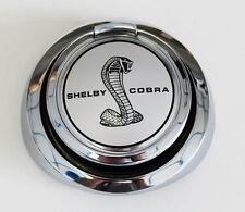 NEW 1967-1968 Mustang Shelby Cobra Gas Cap Silver Pop Open Gas Cap Snake Emblem