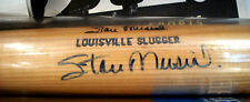 STAN MUSIAL AUTOGRAPHED LOUISVILLE SLUGGER MUSIAL MODEL BAT HOF CARDS CARDINALS