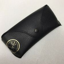 Ray-Ban Glasses Case Pouch Storage Box Sunglass Black Leather