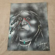 Jimmie Lee Native American Painting Original Southwest Outsider Art New Mexico