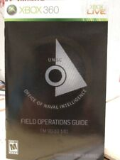Xbox 360 Unsc.Office Of Naval Intelligence.Field Operations Guide.Halo 3:Odst