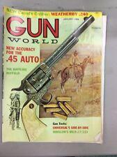 Vintage Gun World Magazine Jan 1968 Accuracy For .45 Auto Winslow Wild .17/223