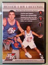better basketball  BETTER 1 ON 1 DEFENSE       DVD   includes chapter insert