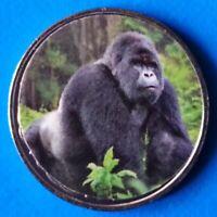 Benin 10 Francs CFA 2018 UNC Gorilla Monkey unusual coin