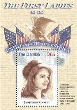 GAMBIA FIRST LADIES OF THE UNITED STATES - JACQUELINE KENNEDY  S/S MNH
