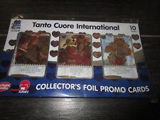 TANTO CUORE International Collector's Foil Promo Cards Set Kickstarter