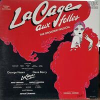 Jerry Herman's La Cage Aux Folles - 1983 Broadway gatefold LP record excellent