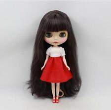 """12""""Height 30cm Nude Blythe Doll With Beautiful Long Hair+Matte Face From Factory"""