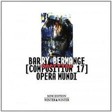 BARRY BERMANGE - OPERA MUNDI-COMPOSITION 17  (CD)  AVANTGARDE/FREE JAZZ  NEU